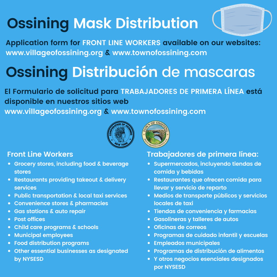 Mask Distribution for Essential Businesses