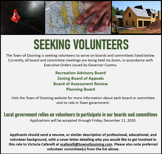 Volunteers needed Boards and Committees