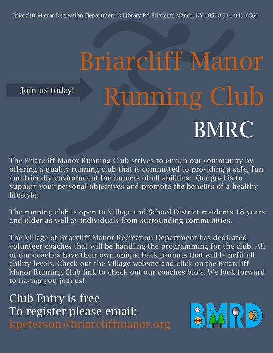 run club flyer