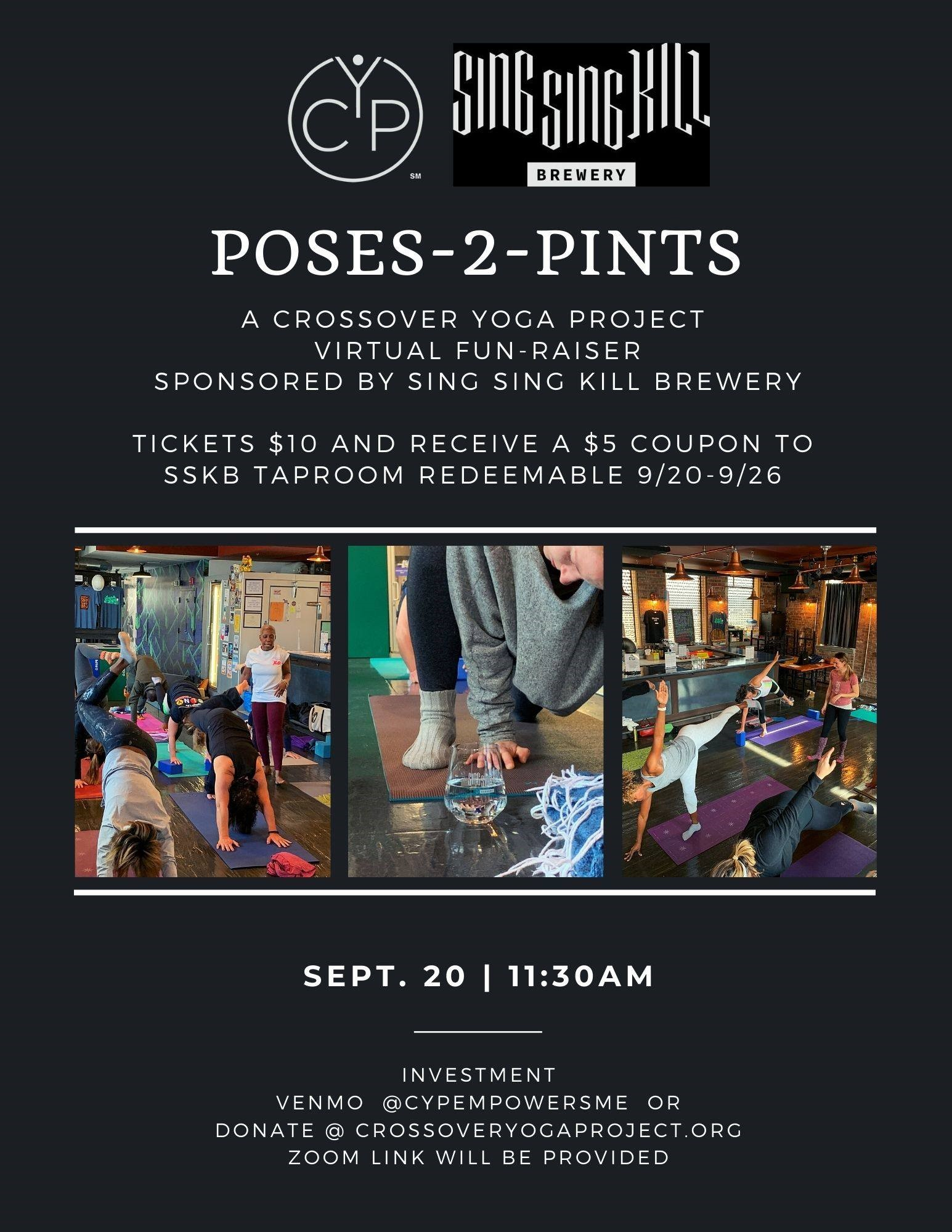 Pints to Poses