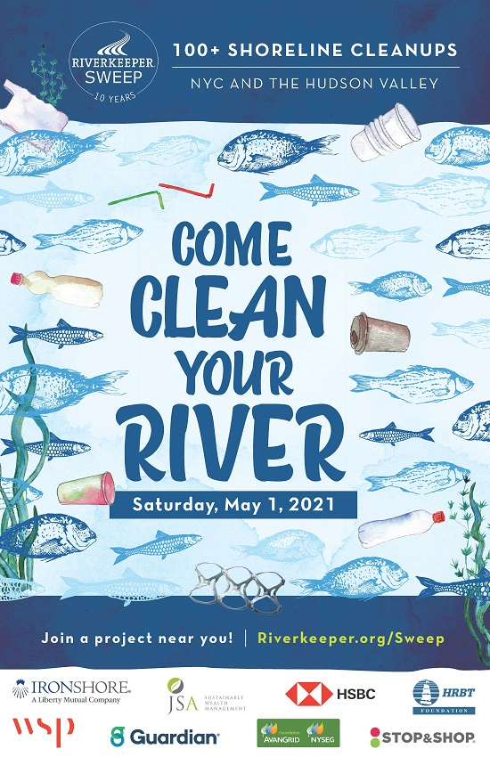 Riverkeeper Sweep Final Poster Sweep 2021