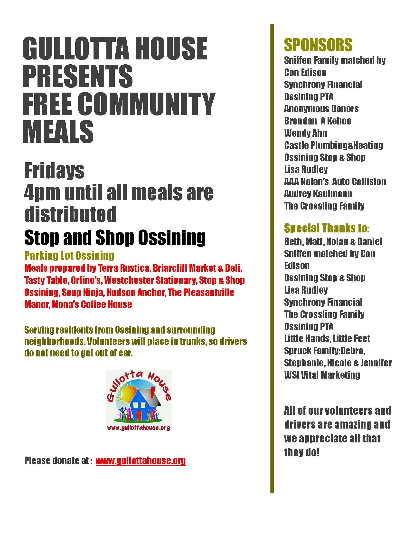 GH Free Community Meals 071020