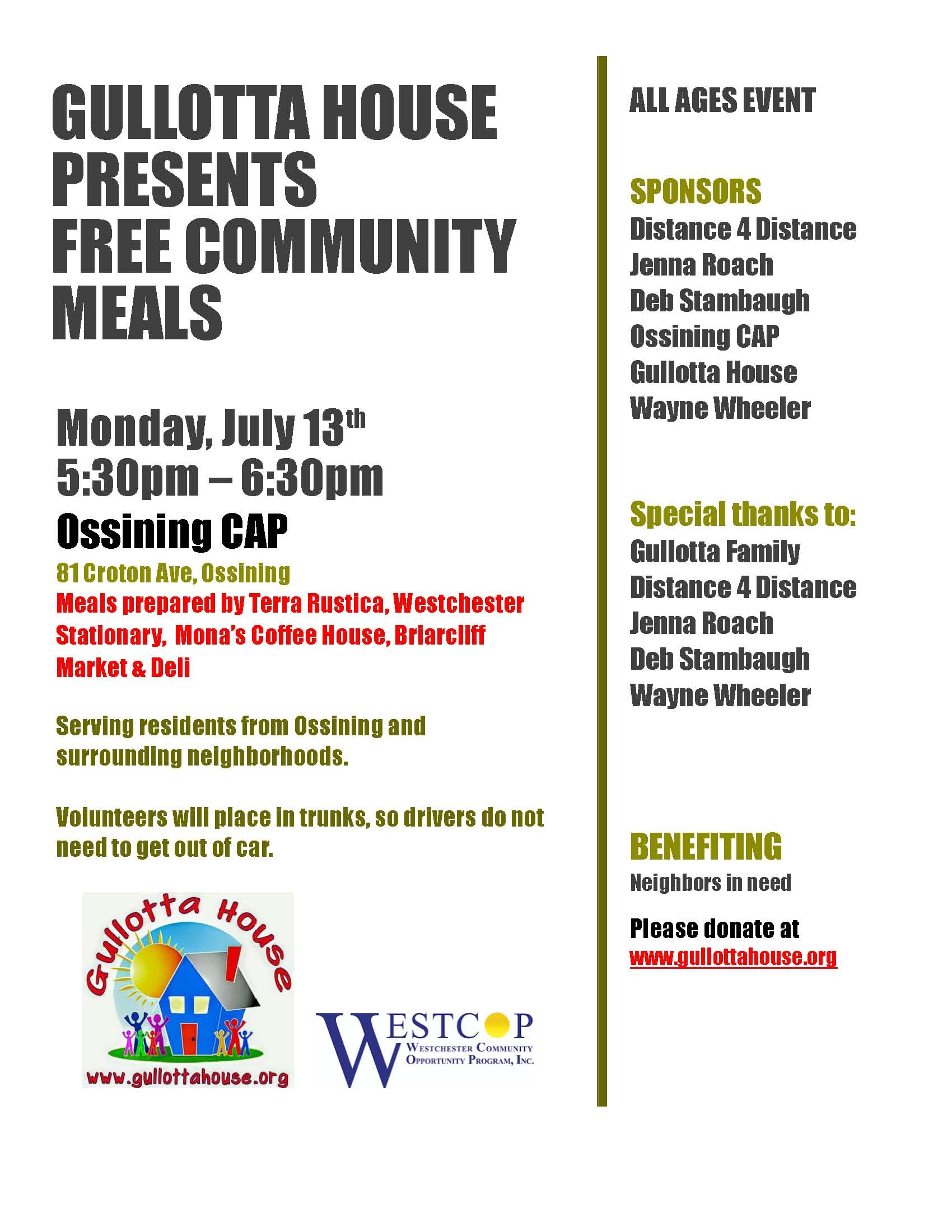 GH Free Community Meals 071320 WestCOP