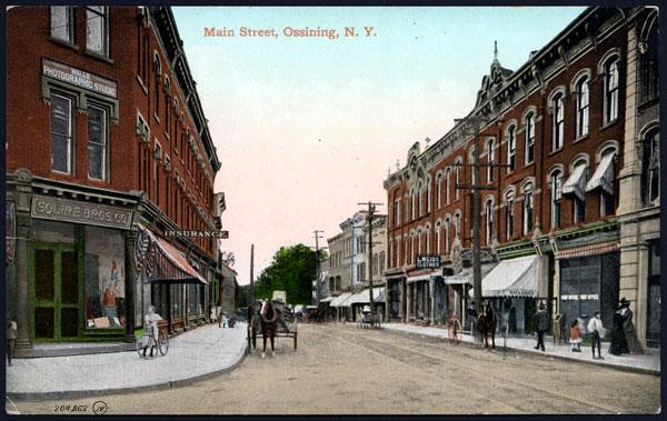 Main Street postcard